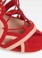 Aldo Bağcıklı İnce Topuklu Ayakkabı Pembe